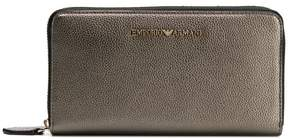 Emporio Armani zip-around logo wallet