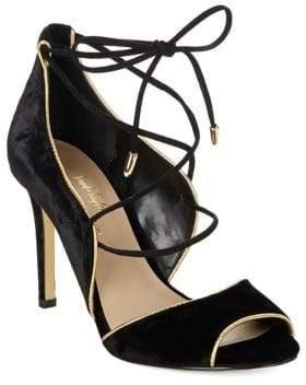 424 Fifth Gessa 2 Open-Toe Lace-Up Heels