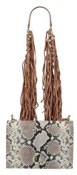 Class Roberto Cavalli Nude/ White Medium Shoulder Bag Lauren 002.