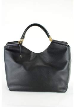 Dolce & Gabbana Womens Miss Sicily Hobo Tote - Black Leather - BLACK - STYLE