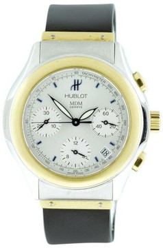 Hublot Classic Elegant Chronograph 18K Yellow Gold and Stainless 40mm Mens Watch