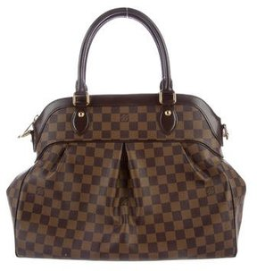 Louis Vuitton Damier Ebene Trevi GM - BROWN - STYLE
