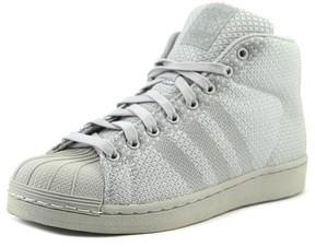adidas Pro Model Weave Men US 7.5 Gray Sneakers