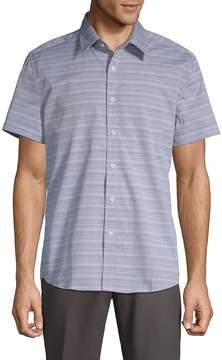 Hyden Yoo Men's Tyler Cotton Button-Down Shirt