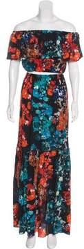 Athena Procopiou Crop Top Skirt Set