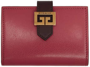 Givenchy Red GV3 Business Card Holder