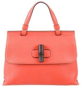 Gucci Bamboo Daily Bag - ORANGE - STYLE