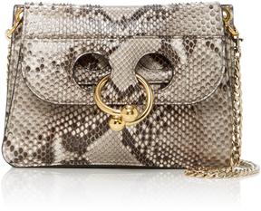 JW Anderson Pierce Mini Python Bag