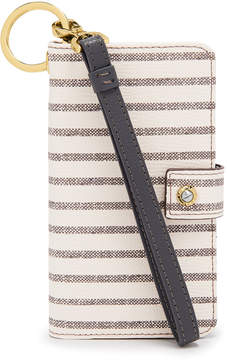 Henri Bendel Dalton Striped Wristlet For Iphone 7/8