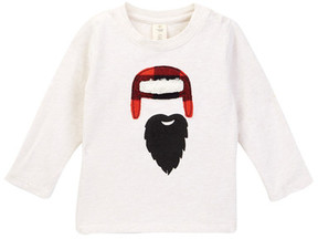 Tucker + Tate Lumberjack Applique Long Sleeve Tee (Baby Boys)