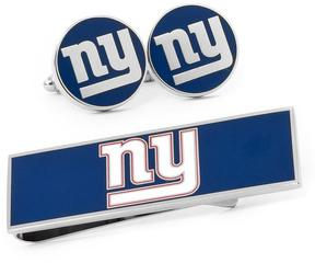 Ice New York Giants Cufflinks and Money Clip Gift Set