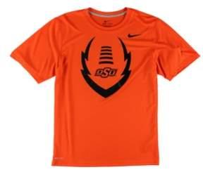 Nike Mens Oklahoma State Icon Legend Graphic T-Shirt Orange S