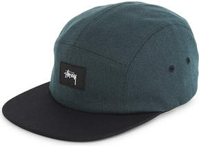 Stussy Melange twill strapback cap