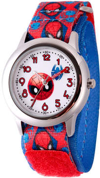 Marvel Emoji Boys Red Strap Watch-Wma000093