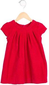 Jacadi Girls' Corduroy Polka Dot Dress