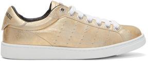 DSQUARED2 Gold Santa Monica Sneakers