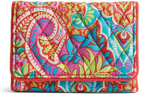 Vera Bradley Paisley in Paradise Petite Trifold Wallet - PAISLEY - STYLE