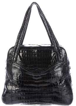 Nancy Gonzalez Large Crocodile Bowling Bag