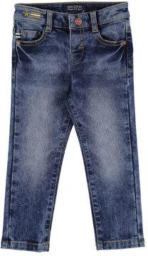 Mayoral Slim-Fit Pique Denim Jeans, Size 3-7