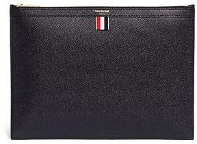 Thom Browne Medium pebble grain leather document holder