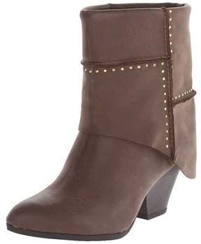 Fergie Women's Knack Foldover Studded Ankle Boots.