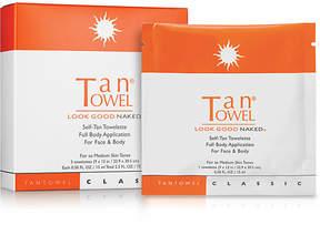 TanTowel Self-Tan Towelette Full Body Application For Face & Body