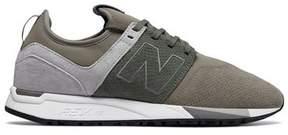 New Balance 247 Luxe Suede Knit Mesh Sneaker in Beige
