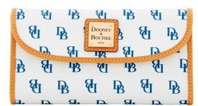 Dooney & Bourke Blakely Continental Clutch Wallet - WHITE NAVY - STYLE
