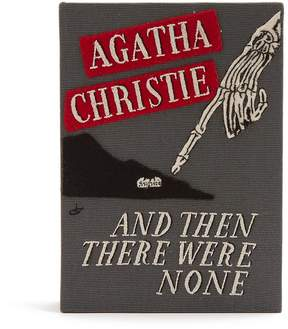 Olympia Le-Tan And Then There Were None book-embroidered clutch