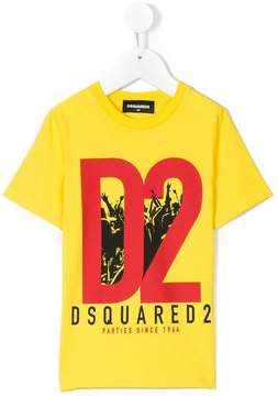 DSQUARED2 Parties Since 1964 printed T-shirt