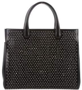 Alaia Grommet Top Handle Bag