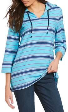 Westbound 3/4 Sleeve Pullover Hoodie