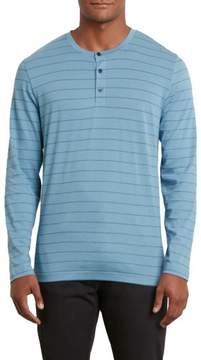 Kenneth Cole New York Long-Sleeve Henley Shirt - Men's