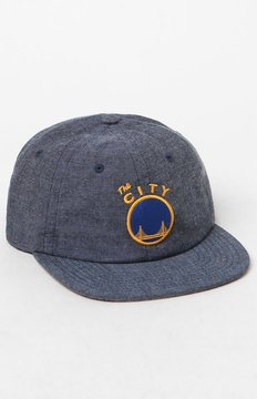 Mitchell & Ness Golden State Warriors Melange Strapback Hat
