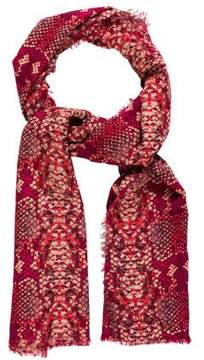 Marc by Marc Jacobs Wool Printed Scarf