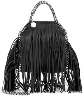 Stella McCartney Falabella Mini fringed shoulder bag