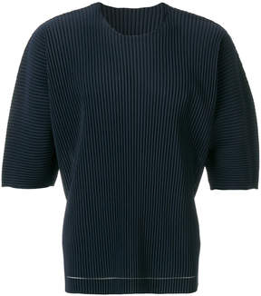 Issey Miyake Homme Plissé ribbed effect T-shirt
