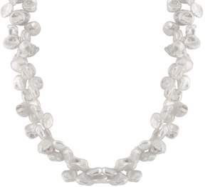 Bella Pearl Double Row Keshi Pearl Necklace