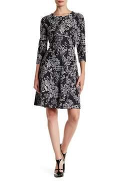 Nine West Jacquard Knit Dress