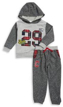 Nannette Little Boy's Two-Piece Hooded Sweatshirt and Jogger Pants Set