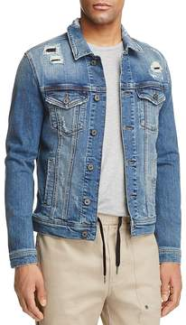 Mavi Jeans Frank Patched Denim Trucker Jacket
