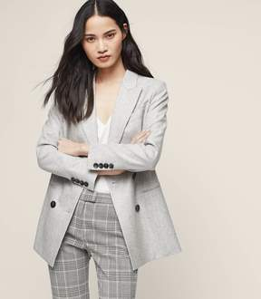 Reiss Logan Double-Breasted Blazer
