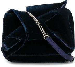 No21 fold over clutch bag
