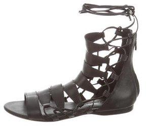 Sigerson Morrison Multistrap Lace-Up Sandals