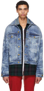 Fear Of God Indigo Selvedge Holy Water Denim Jacket