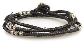 M. Cohen Knotted Wrap Bracelet in Black