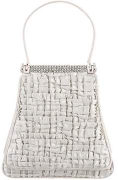 Judith Leiber Satin Frame Handle Bag