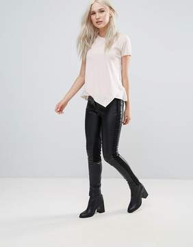French Connection Street PU Skinny Pants
