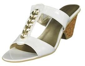 Karen Scott Kyley Open Toe Synthetic Sandals.