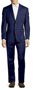 Lauren Ralph Lauren Windowpane-Check Wool Suit